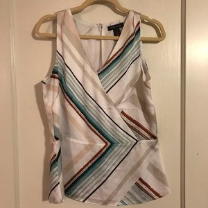 WHBM sleeveless blouse